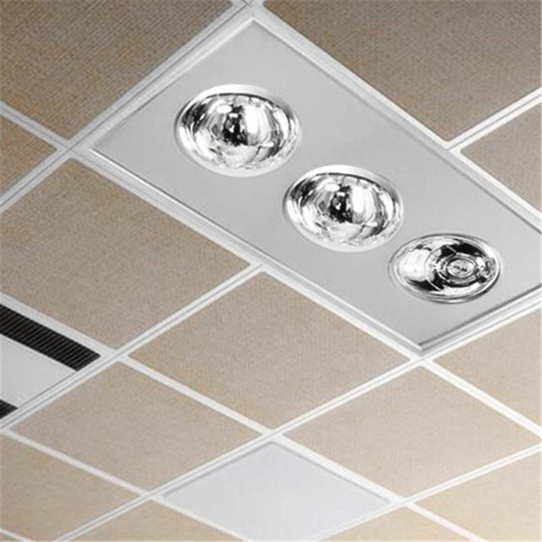 3 Lamp Bathroom Electric Heater Exhaust Fan Warmer Ceiling Lights ...