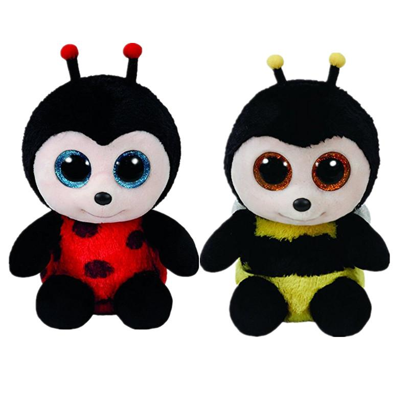 New Hot TY Beanie Boos Black Bees Big Eyes Animals Stuffed Plush Toys Best  Gift For Children Toy Dolls Educational Toys UK 2019 From Jeanyme 6a6854d5c4f