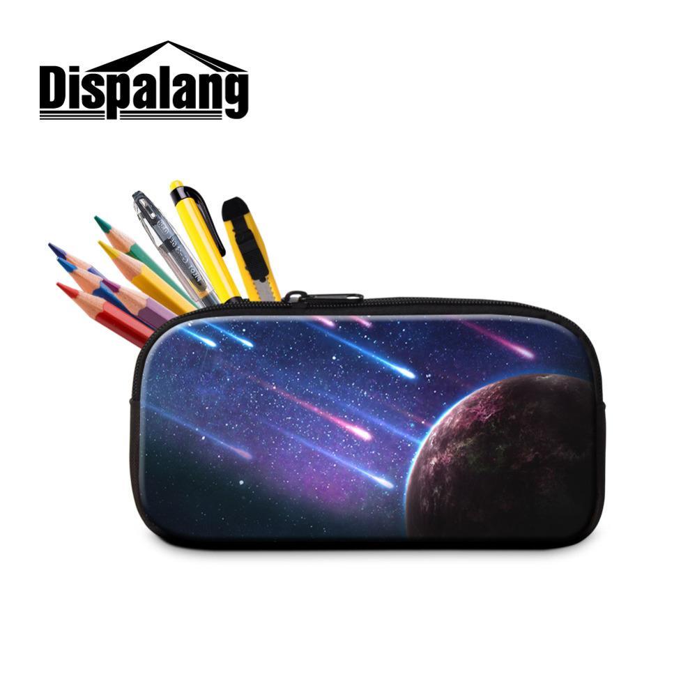 Dispalang Universe Galaxy Star Pencil Case Womens Make Up Bag Zipper ... ba69b0f855b1d