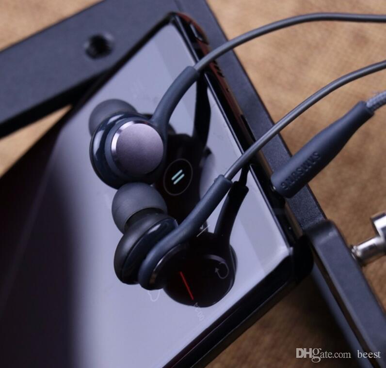 جديد S8 سماعة أسود في الأذن سماعات EO-IG955BSEGWW سماعات يدوي للتكلم عن طريق أذن Samsung Galaxy S8 S8 Plus OEM أذن