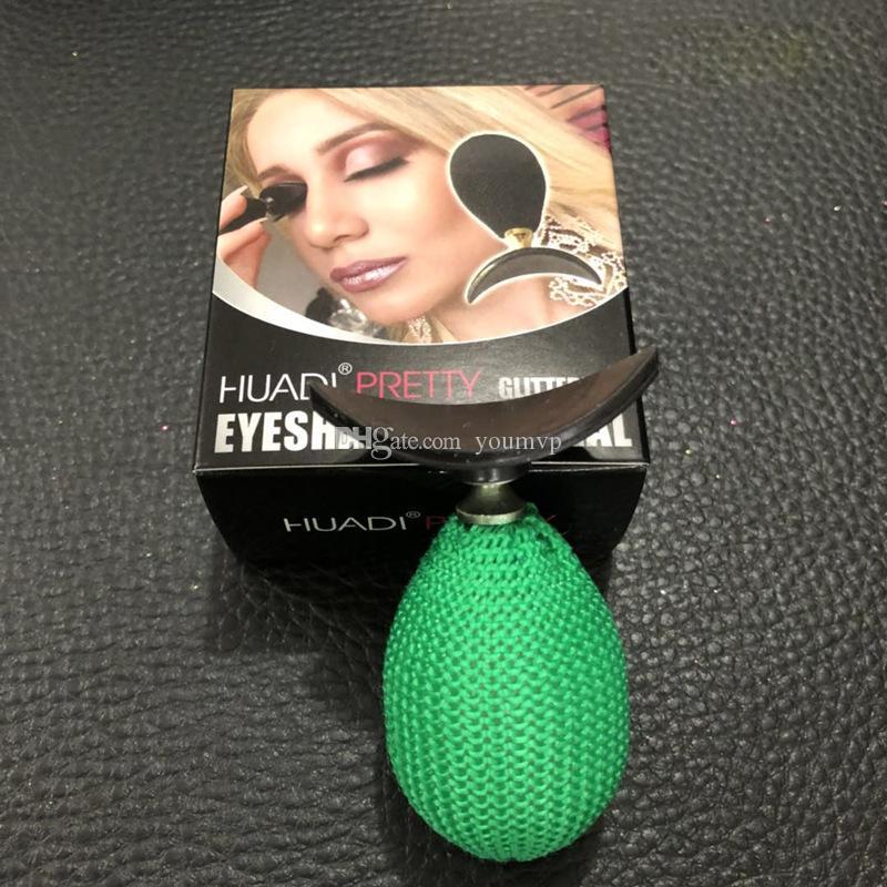Popular Silicone Eyeshadow Stamp pliegue Lazy Eye Shadow Stamp Crease Lazy Eyeshadow Aplicator Maquillaje Herramienta Brillo