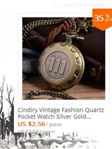 Bússola de Ouro do vintage Bronze Das Mulheres Dos Homens Analog relógio de bolso Pingente de Colar de presente