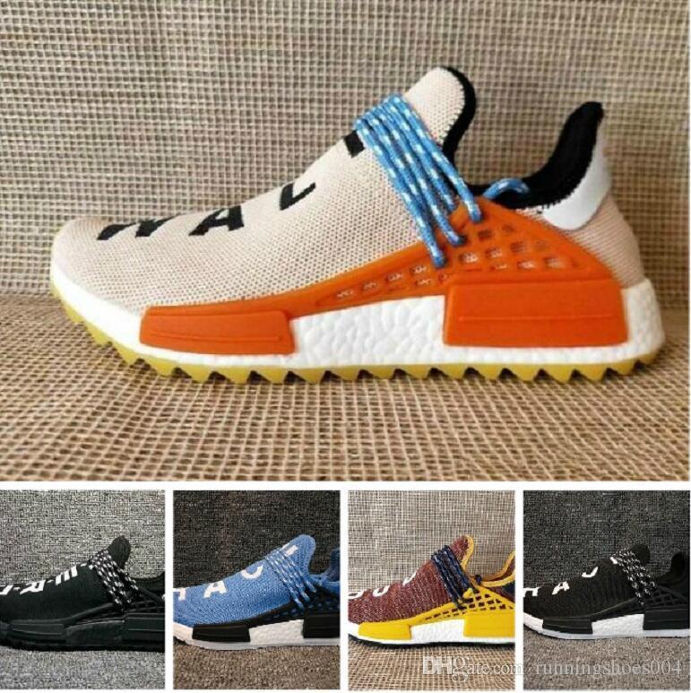 5f0799333 2018 Wholesale NERD NMD Human Race Hu Trail Running Shoes Men Women ...