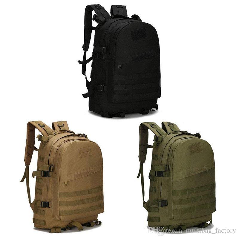 05449594d75b Military Tactical Backpack Rucksacks Survival Gear Bags Men Women Large  Molle Waterproof Outdoor Daypack Army Camping Gym Hiking Trekking Laptop  Backpacks ...