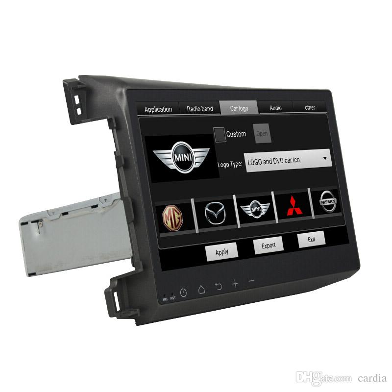 Car DVD player for Honda Civic 2012 10.1inch Octa-core 4GB RAM Andriod 8.0 with GPS,Steering Wheel Control,Bluetooth
