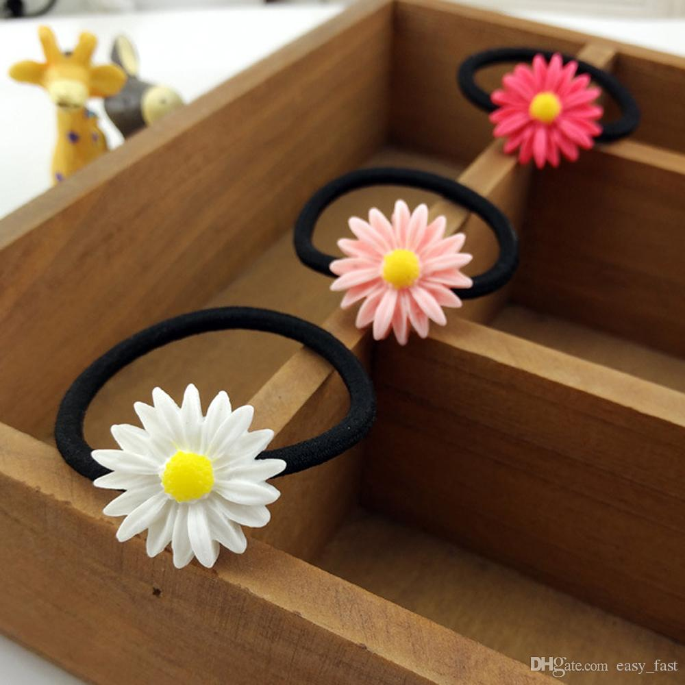 Elastic Band String Rubber Band Hair Accessories Flower Headbands