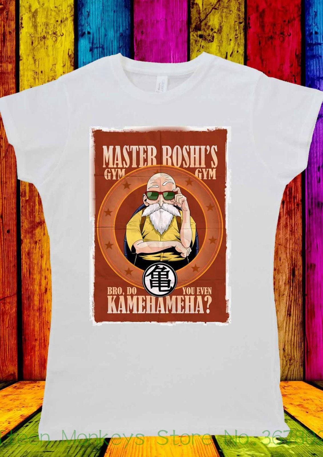 d3054fa74 Women's Tee Master Roshi Muten Gymnasium D Ball T-shirt Men Women Unisex  2046 Popular Woman T Shirt Online with $28.54/Piece on  Fifteenmonkeysstore's Store ...