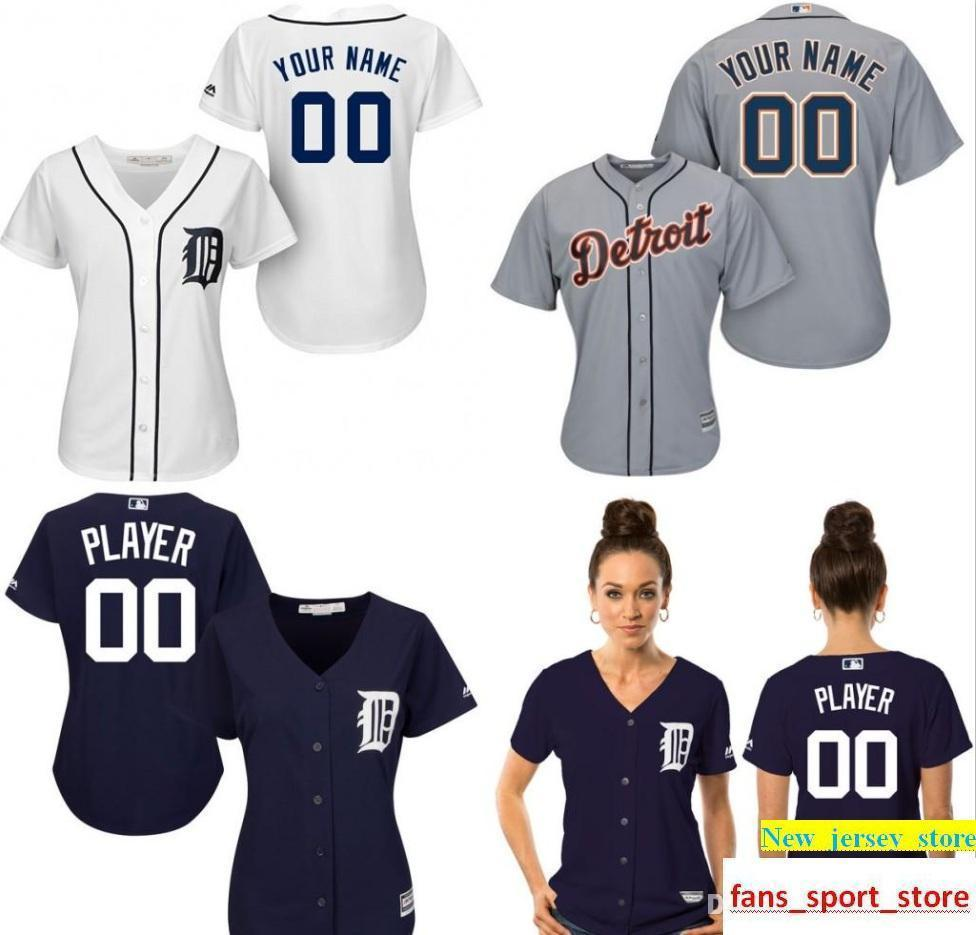 8ecb8506b 2019 Customized Dt Tigers Jersey Womens Baseball Jerseys Shirt Custom Logo  Personalized 100% Stitched Bests By Dr China S XXL From New jersey store
