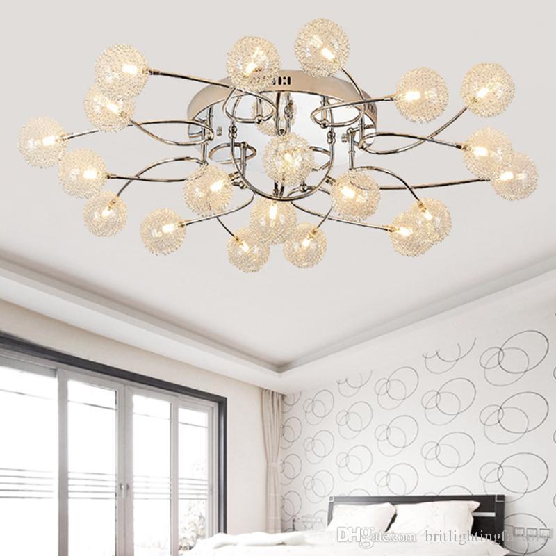 Großhandel Led Deckenleuchte Kreative Wohnzimmer Schlafzimmer Deckenleuchte  Restaurant Zimmer Lampe Dekoration Culb Hotel Konferenzraum Saugen ...