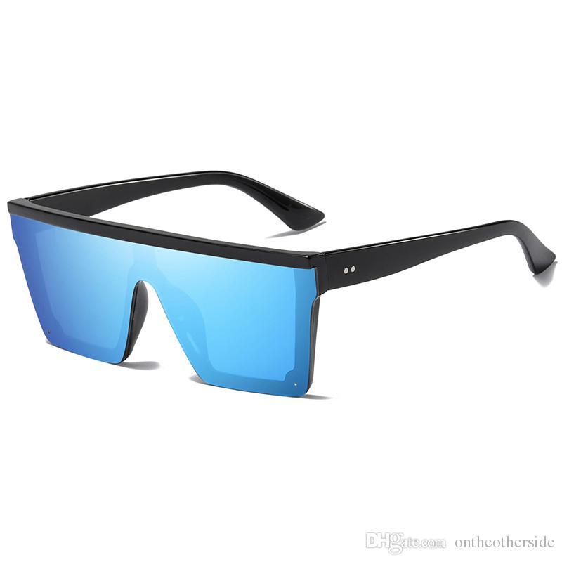 Compre Retro Quadrado Sunglasses Flat Top Design Homens Óculos De Sol  Condução Outdoor Sport Sun Glass De Ontheotherside,  18.28   Pt.Dhgate.Com c8664bc1f0