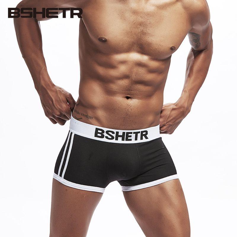 Boxer Herren-unterwäsche 2019 Neuer Stil Marke Männliche Unterwäsche Männer Boxer Baumwolle Männer Sexy Unterhose Für Männer Höschen Komfortable Kurze Cuecas Weiche Unterhose Boxer Männer