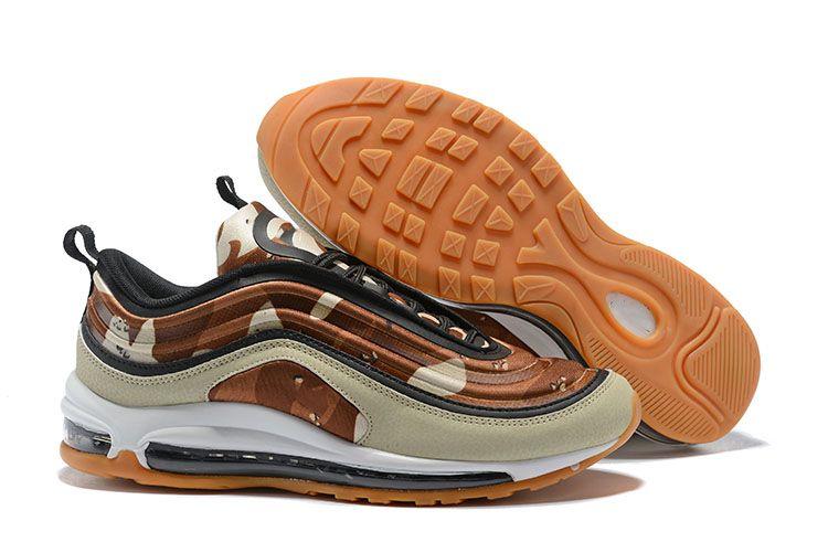 reputable site 8522b 0da25 Compre Nike Air Max 97 Nuevo 97 Zapatos Para Hombre Ultra Confeti Plata  Pana Negro Multi Blanco Og Ul17 Zapatillas Deportivas Zapatillas De Deporte  A  51.78 ...