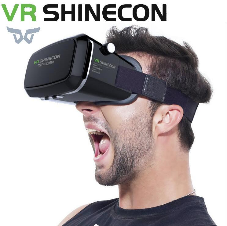 261c6c148e0a 2019 VR Shinecon Pro Virtual Reality 3D Glasses Headset Head Mount Mobile Google  Cardboard Video For 4 6  Smartphone 13000001 From Coolsky999