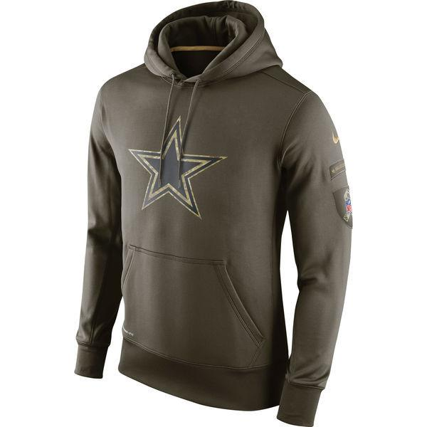 697fb165a 2018 Dallas Sweatshirt Cowboys Olive Salute To Service KO Performance  American Football Hoodie Online with  35.93 Piece on Tophotnewseven s Store