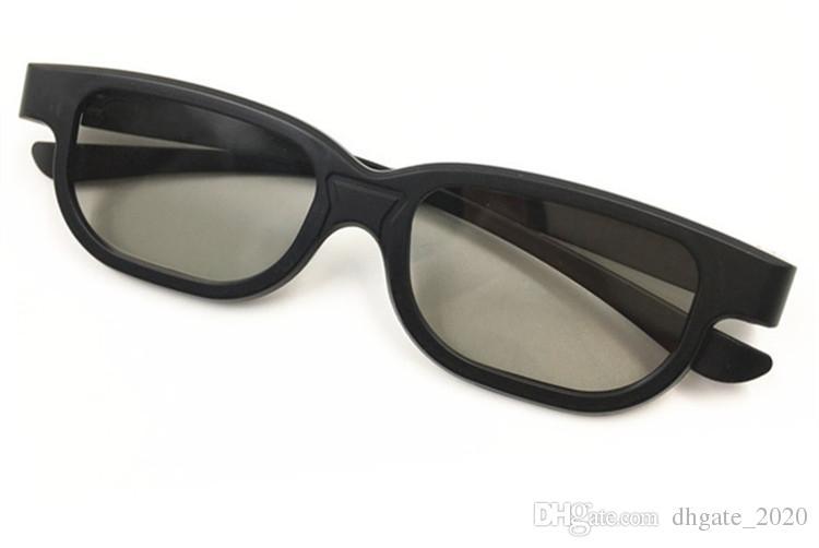 نظارات 3D نوع عالمي سماوي النقش رؤية reald نظارات 3D ستيريو البلاستيك لتلفزيون البلازما لعبة فيلم دي إتش إل