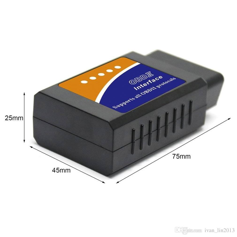 2018 New ELM 327 Bluetooth ELM327 OBDII / OBD2 V2.1 Vehicle car Diagnostic Scanner Tool Reader Works On Android