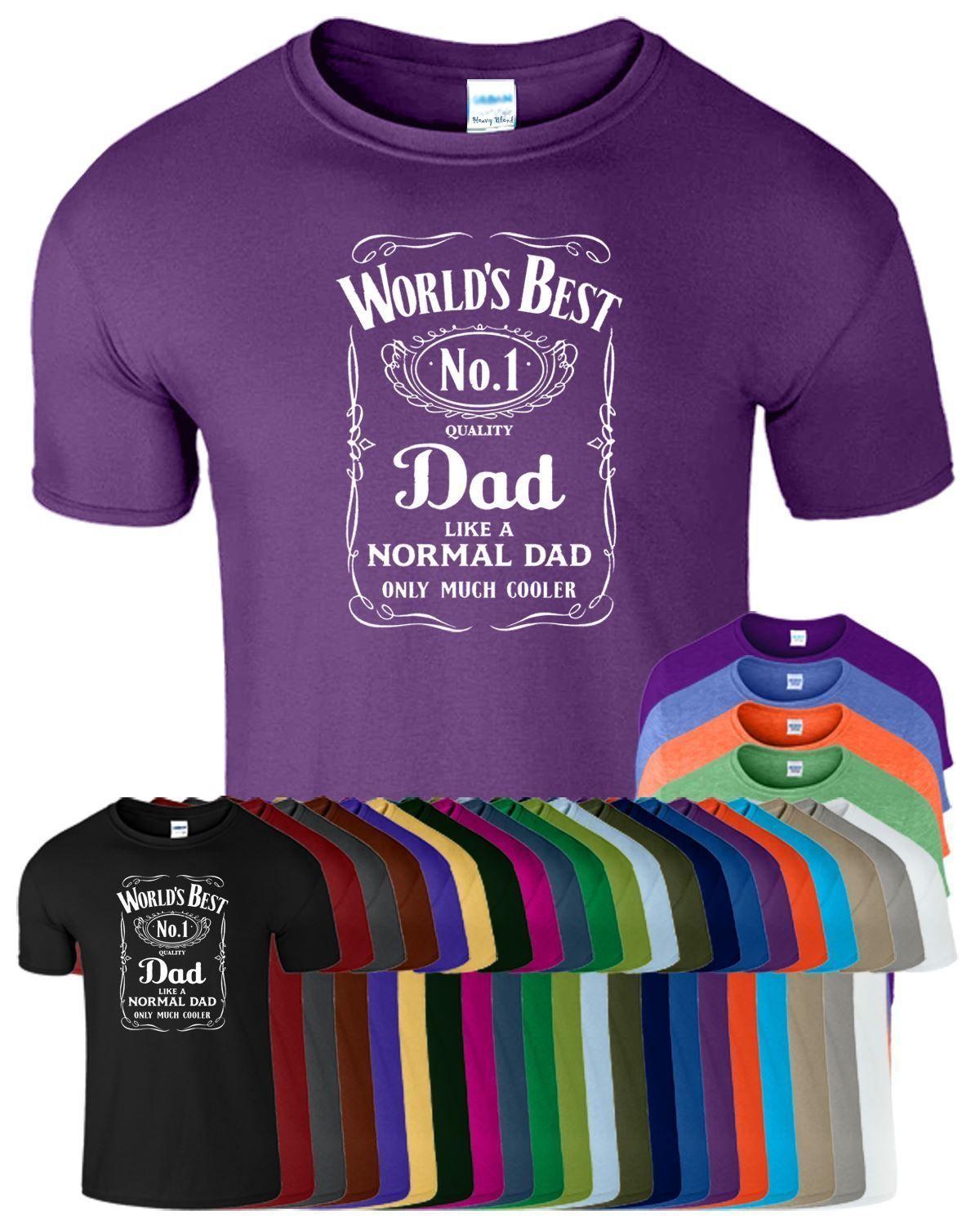 Grosshandel World Best No 1 Dad Birthday Gift Mens Funny T Shirt Von Designtshirts 1066 Auf DeDhgateCom