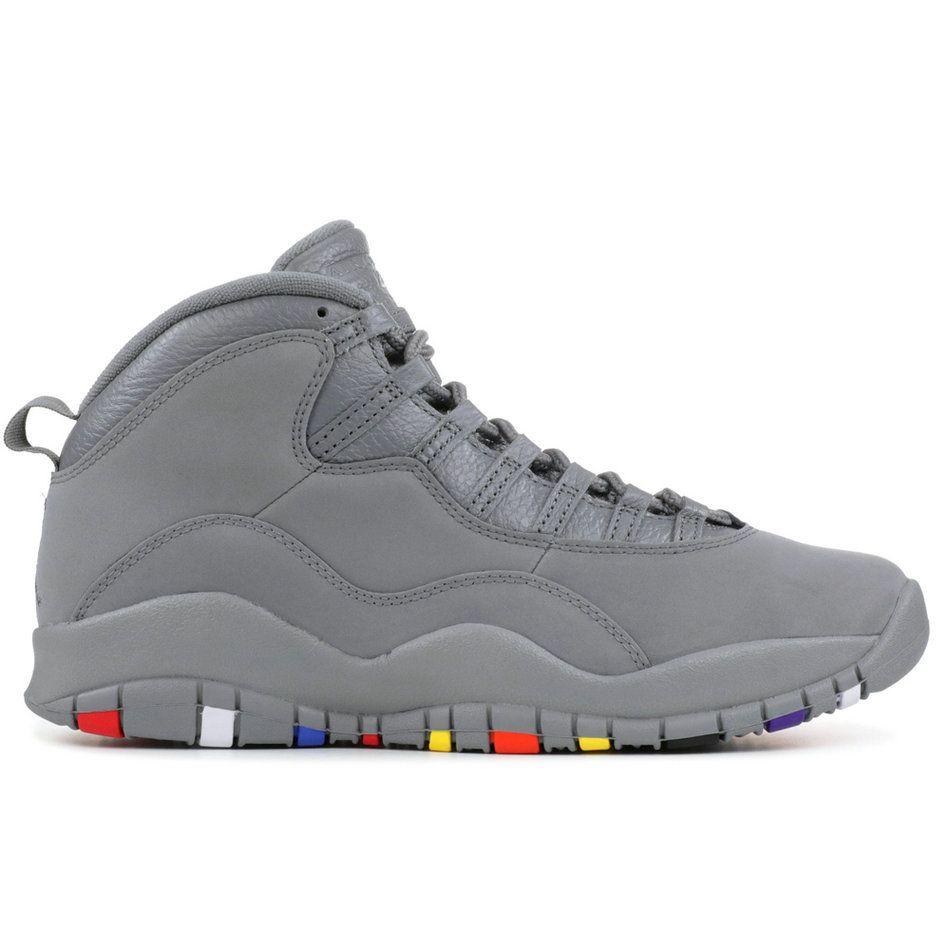80b5e6338fb6 2018 New 10s Men Athletic Shoes 10 I m Back White Black Cool Grey ...