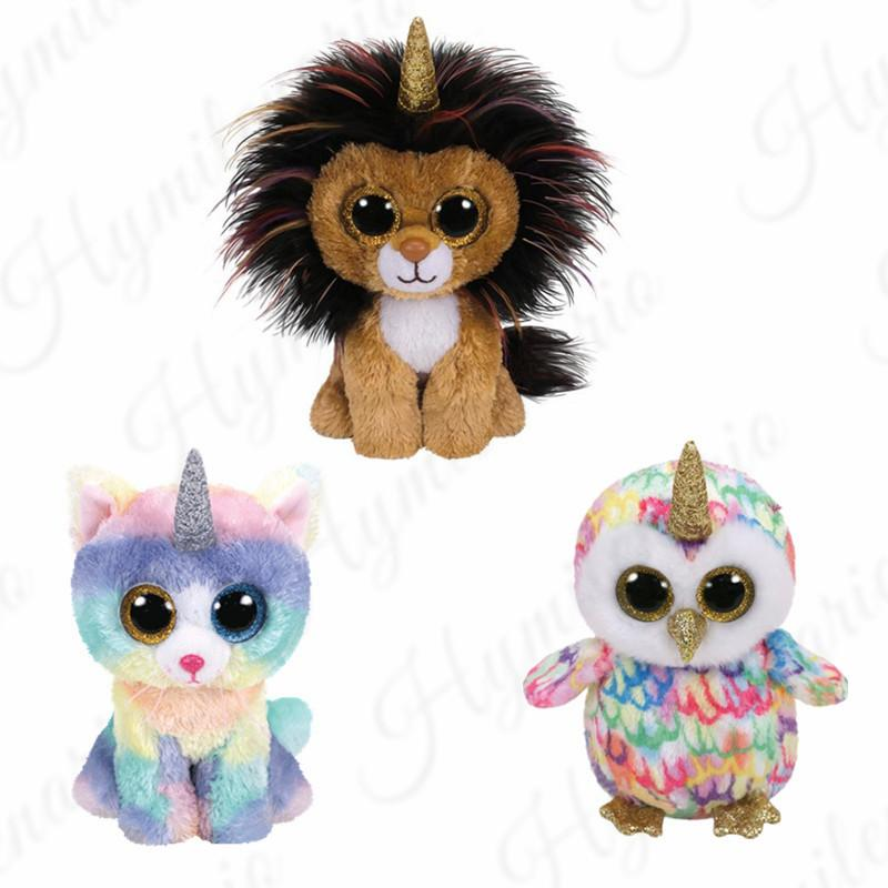 Ty Beanie Boos 6 15cm Big Eyes Cat Lion Plush Regular Stuffed Animal  Collection Soft Doll Toy Juguetes Brinquedos UK 2019 From Mobiletoys fc5dcee490c3