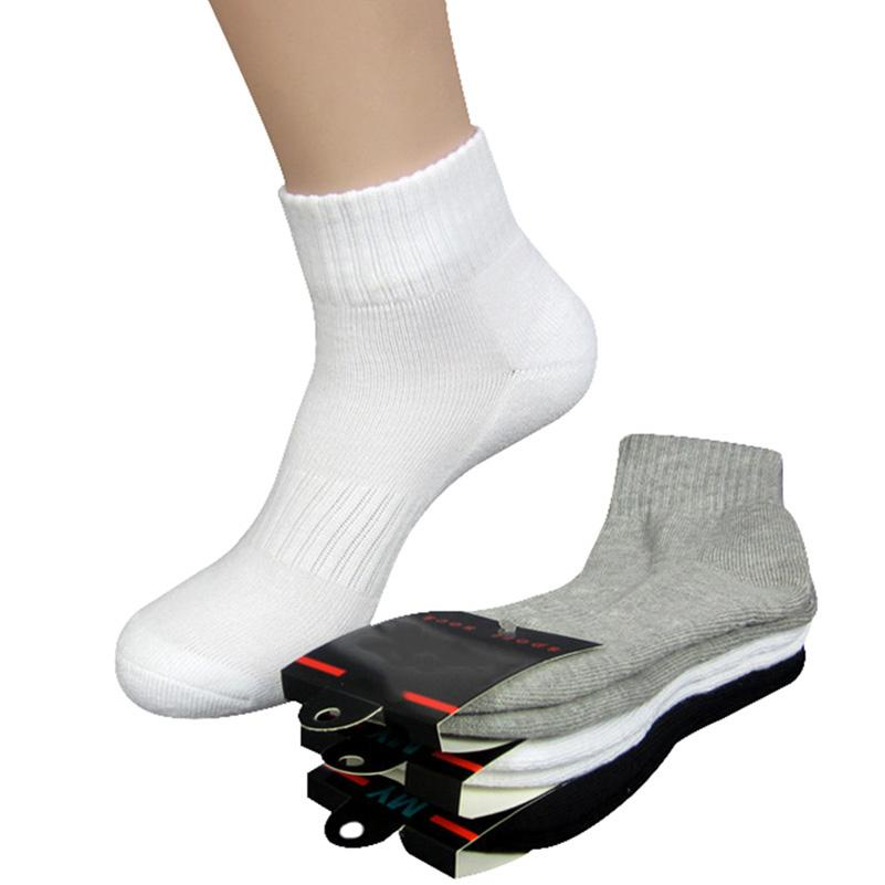 dcb30b1ec27 2019 High Quality Men Women Socks Thick Long Socks Profession Thermal Towel  Bottom Foot Wear Terry Combed Cotton Long Tube From Guocloth