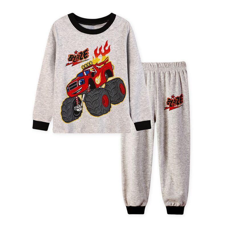 Baby Boy S Homewear Kids Pajamas Spring Fall Cartoon Long Sleeve