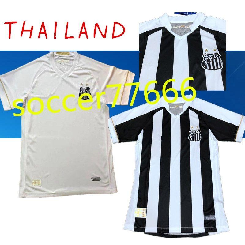 87d127eb9a4 AAA New 18 19 santos fc home away soccer jersey PELE Thai Quality 2019  Football shirt