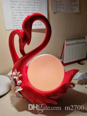 Creative Wedding Gift Wedding Girl Custom Swan Ornament Practical