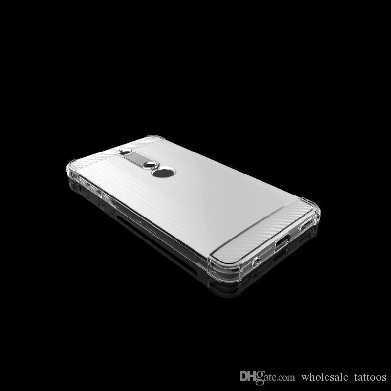 1,3mm luxus weiche silikonabdeckung stoßfest gebürstetem tpu case für nokia 6 2018 htc u11 augen scharfe aquos s3 f8015 sony xperia xa2