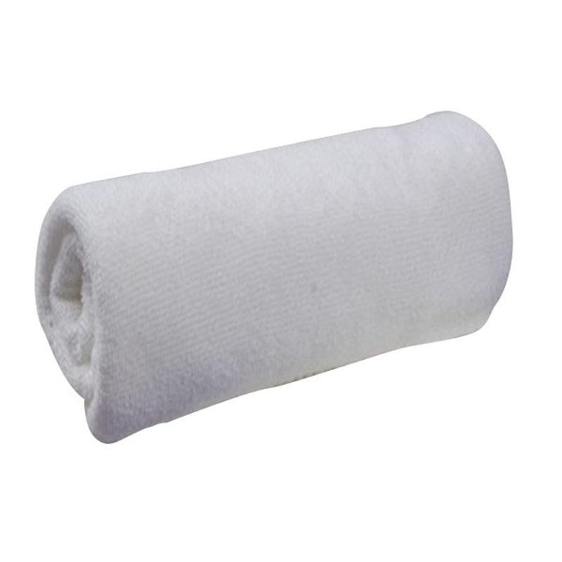 3060 Cm White Soft Microfiber Fabric Face Towel Hotel Bath Towel