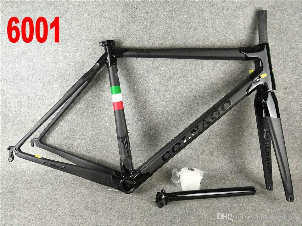 2020 Кольнего С60 С64 дорога углерода велосипед Рама полных углеродного волокна велосипед фреймы углерод велосипед рама 32 различного цвета