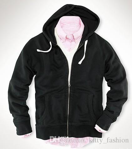 69d9c9492d66 2019 Target New Autumn Cotton Coats Mens Fashion Polo Hoodies Small Horse  Sweatshirts Man Zipper Casual Hoody Men Jacket S XXL From Kitty_fashion, ...