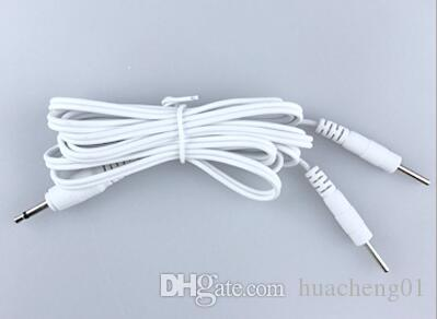 Tens Unit Lead Wires - 3.5mm plug to Two 2mm Pin Connectors Cable