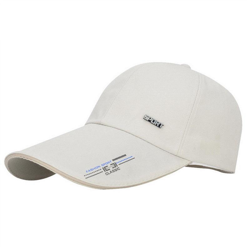 Lammei Men Women Adjustable Sun Protection Leisure Korean Baseball Cap  Letter Hat Fashion Unisex Hiphop Snapback Cap Hats