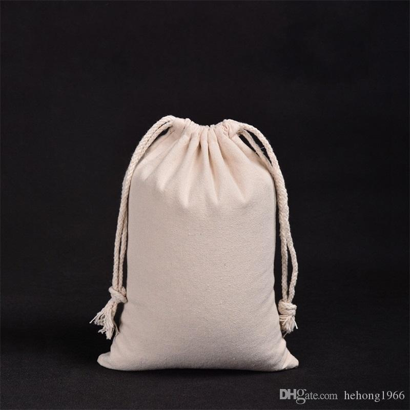 Flax Bundle Pocket Soft Clothes Dustproof Storage Jewellery Bags Drawstring Bag Fashion Solid Color Gift Packaging Bag 4 2ss7 UU