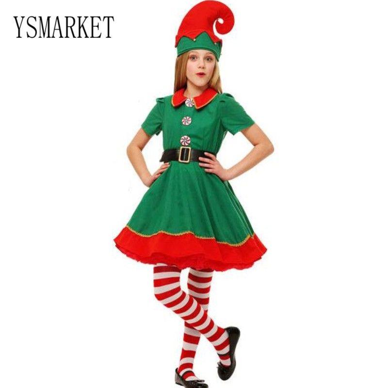 Acquista YSMARKET 90 180 Cm Bambini Adulti Donne Uomini Verde Elfo Costume  Cosplay Costumi Di Famiglia Costumi Di Gruppo Costumi Da Sera E7056 A   22.64 Dal ... f9469e2f8754