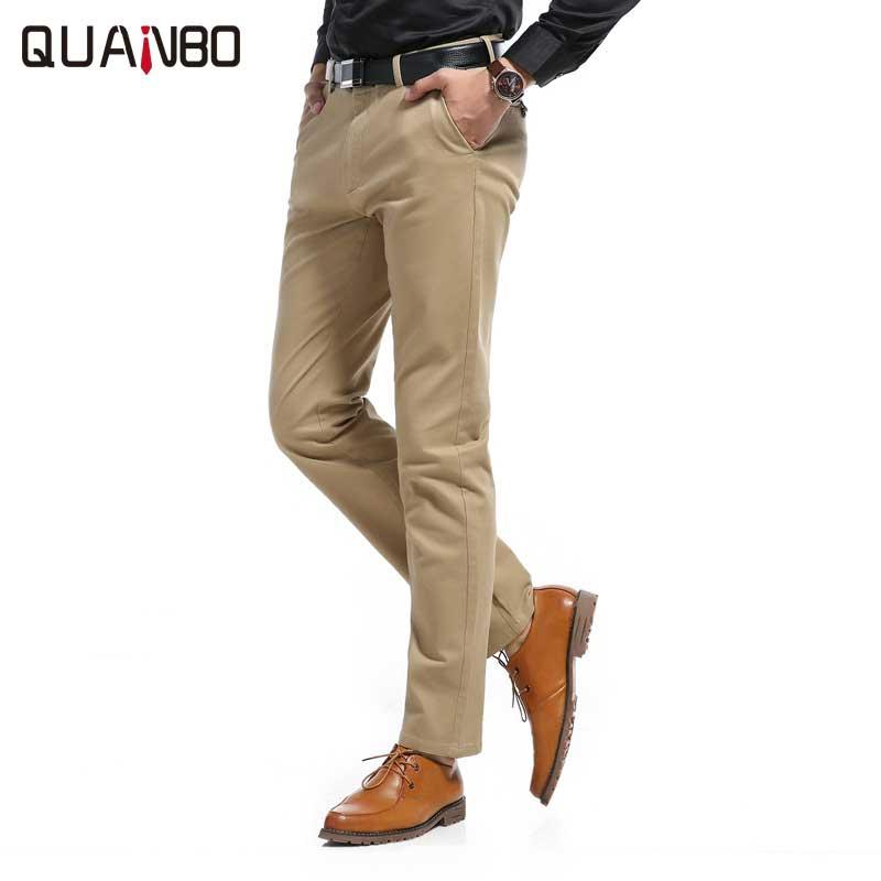 a20d87c49bf 2019 2017 New Spring Autumn Fashion Slim Fit Men Casual Pants High Quality  Cotton Solid Color Straight Korean Version Men S Trousers From Frenzen