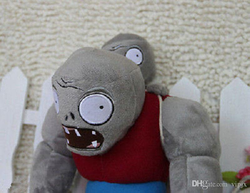 30cm Plants VS Zombies Series 2 Plush Toy Gargantuar Zombie Stuffed Doll Toy DF