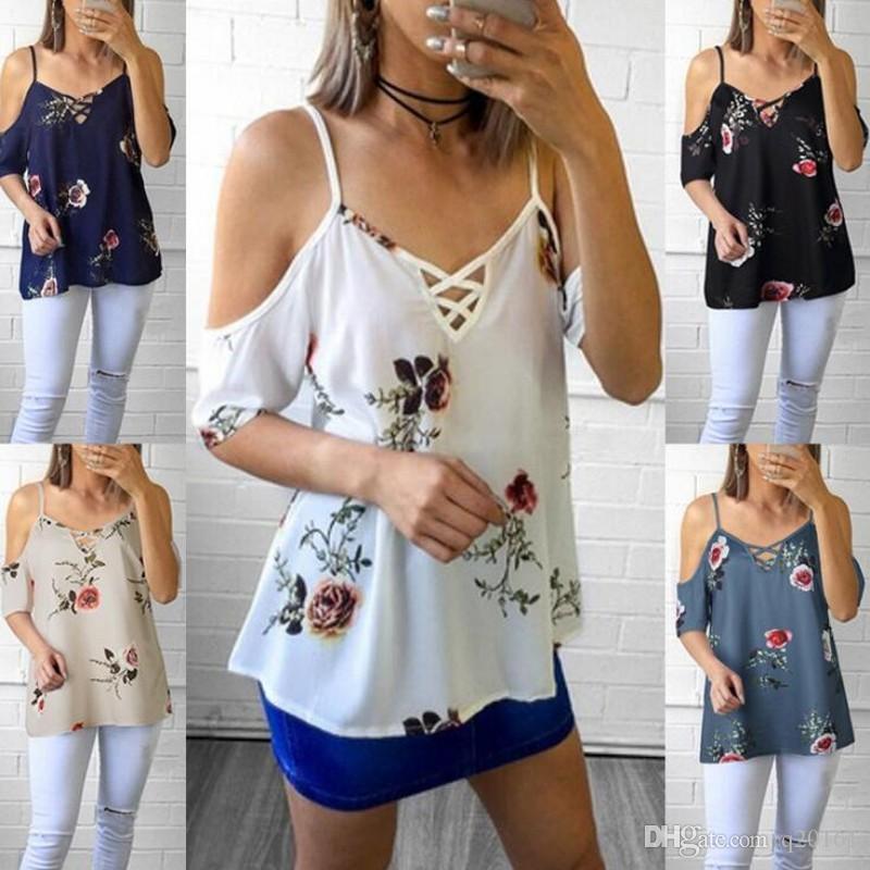 4b56745e Women's Summer Occident Style Designer T-Shirt Fashion Sexy Condole ...