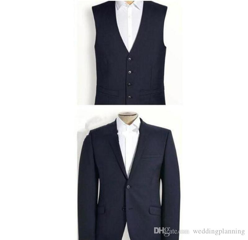 2018 New Formal Tuxedos Suits Men Wedding Suit Slim Fit Business Groom Suit Set S-4 XL Dress Suits Tuxedo For Men Jacket+Pants