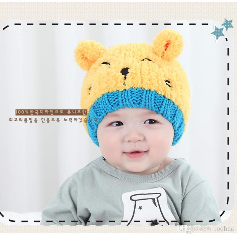 e96b7fc4fd4 2019 2018 Fashion Baby Girl Hat Toddler Baby Boy Hat Knitted Children S  Lovely Spire Soft Baby Hats Spring Bonnet Enfant Kids Winter Caps From  Roohua