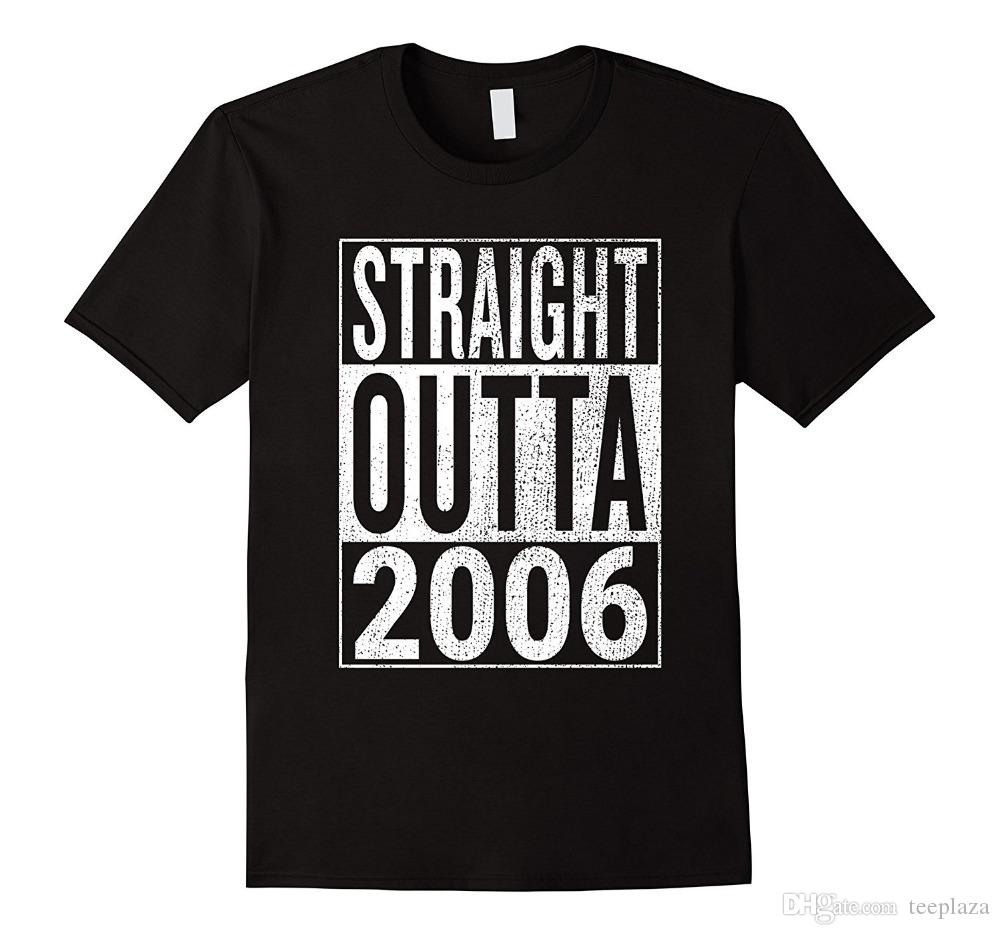 Cool T Shirt Designs Men\'S Straight Outta 2006 Great 12th Birthday ...