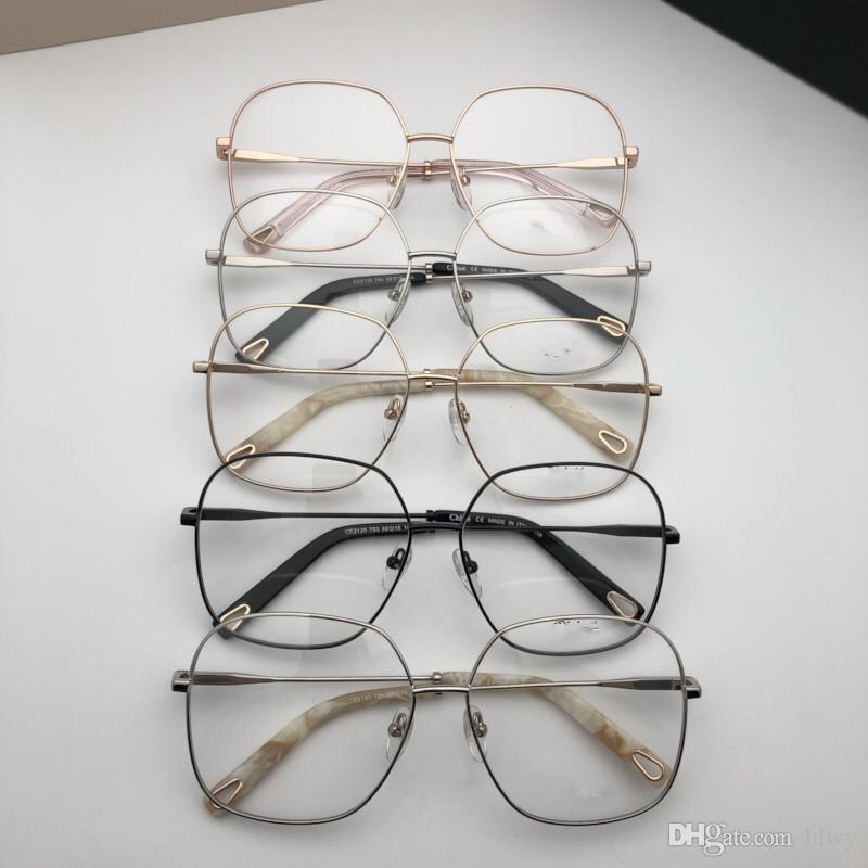 857be2fa5f5a New Eyeglasses Frame Women Men Brand Designer Eyeglass Frames Designer  Brand Eyeglasses Frame Clear Lens Glasses Frame Oculos With Case 2135  Canada 2019 ...
