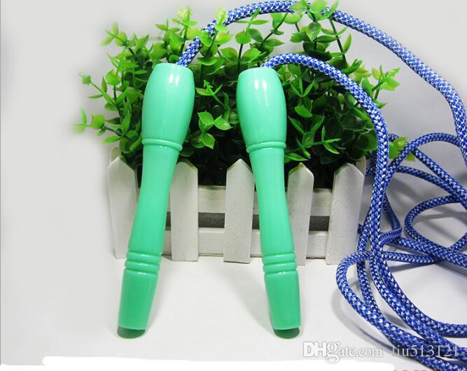 High Quality 2.6M Bearing Jump Rope Fitness Bodybuilding Equipment Sponge Handle Quality Skipping Jump Rope Mix Colors