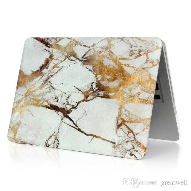 Mermer Yıldızlı gökyüzü Galaxy Hard Case Apple Macbook Hava Pro Retina 11 13 15 inç Dizüstü Buzlu Kılıfları ile
