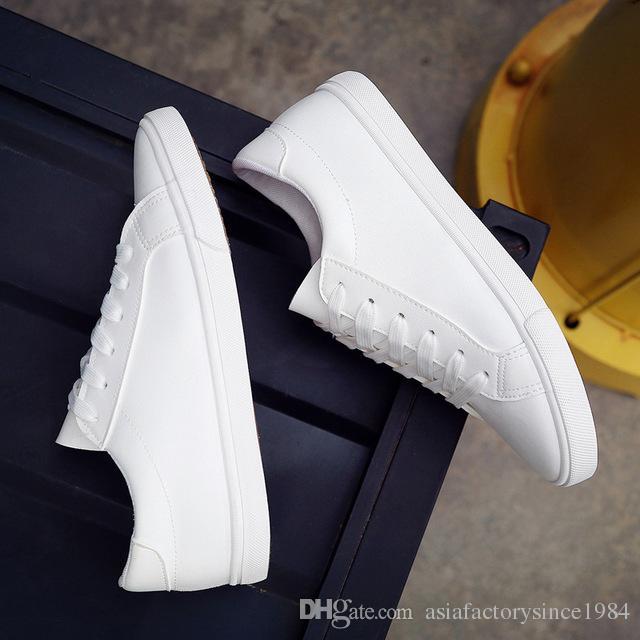Compre 2018 Nueva Primavera Tenis Feminino Con Cordones Zapatos ...