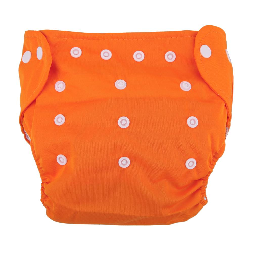 Reusable Adjustable Infant Diapers Unisex Baby Washable Grid Soft Cover Nappy Cloth Summer Breathable Nappies High Quality