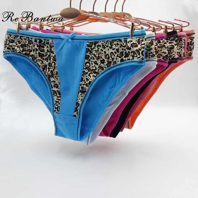 d0a2f53e1c617 Wholesale Women s Cotton Panties Girl Briefs Ms. Cotton Underwear Bikini  Leopard Underwears Sexy Ladies Lingerie Online with  36.05 Piece on ...