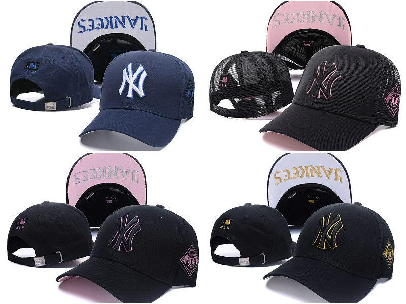 96bb474bfb4f0 New NY LETTER Cap Black Adult Unisex Casual Baseball Caps Fashion ...