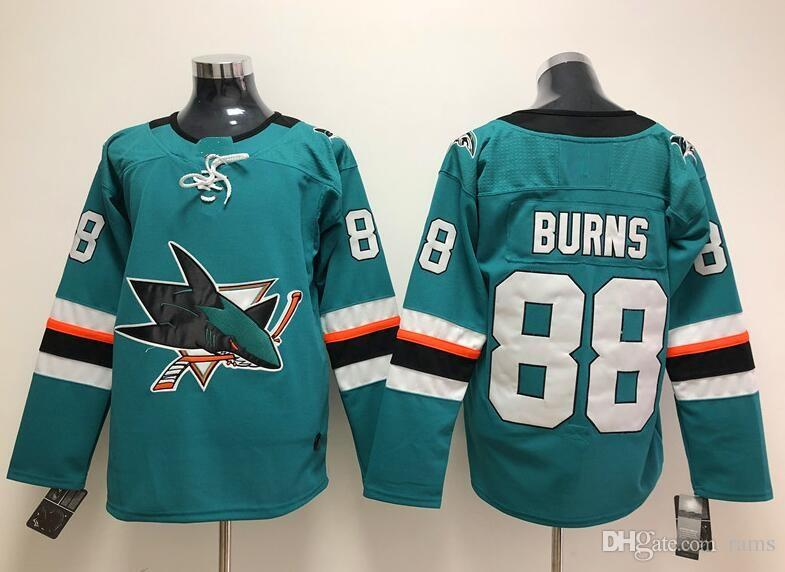 72a4cf2c8 88 teal nhl jersey 55f5e 911aa  italy nhl hockey sports jerseys 2018 san  jose sharks joe pavelski brent burns joe thornton joel