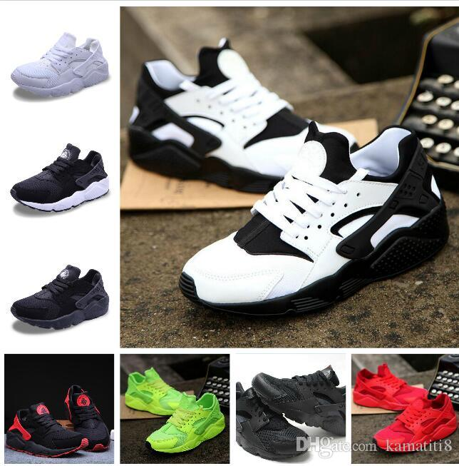 72c13adfc2e7 2018 New Huarache Ultra Casual Shoes For Men   Women Black White Red  Sneakers Triple Huaraches Sports Shoes Size 36 45 Mens Loafers Buy Shoes  Online From ...
